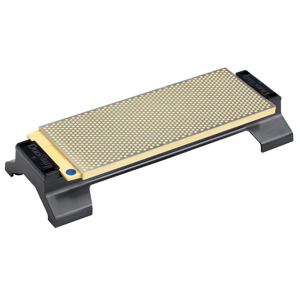 DMT 10 in. Fine/Coarse DuoSharp Bench Stone with Base