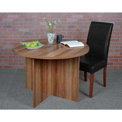 Mod Warm Cherry Round Table