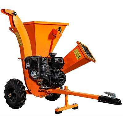 3 In 7 Hp Gas Ed Kohler Engine Direct Drive Chipper Shredder With Trailer Tow Hitch