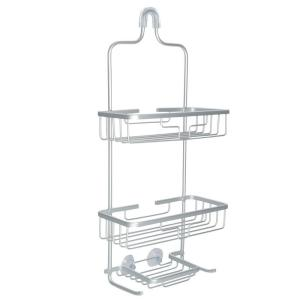 Glacier Bay Rustproof Over-the-Shower Caddy in Satin Chrome by Glacier Bay