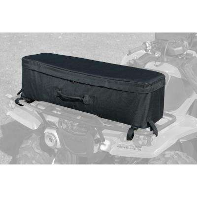 Black ATV Rear Rack Bag