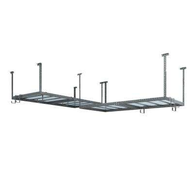 VersaRac Set with 2-Overhead Rack and 8-Piece Accessory Kit