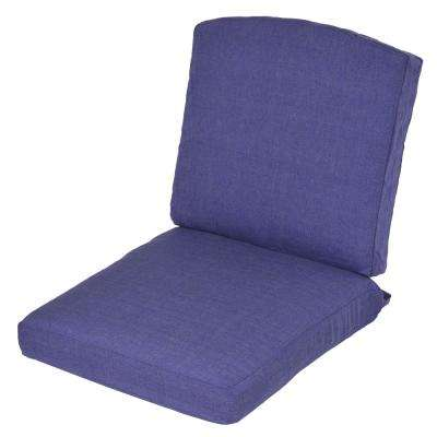 Oak Cliff Sky Replacement 2-Piece Outdoor Glider Cushion