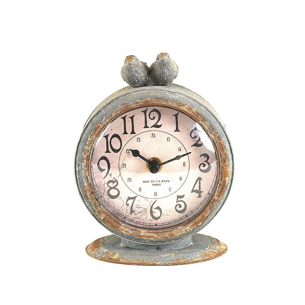 Round table clock sesigncorp home decorators collection two birds round table clock 9226800270 gamestrikefo Gallery