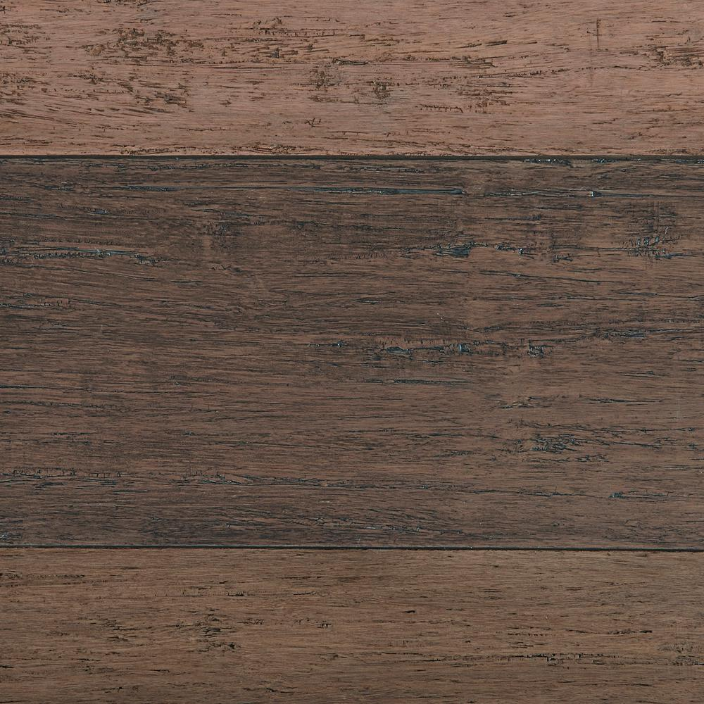 Take Home Sample - Strand Woven Terra Cotta Solid Bamboo Flooring