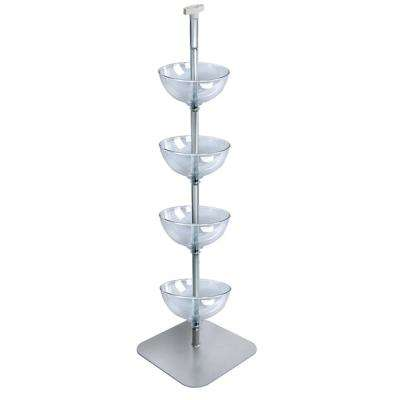 4-Tiered 12 in. Bowl Floor Display