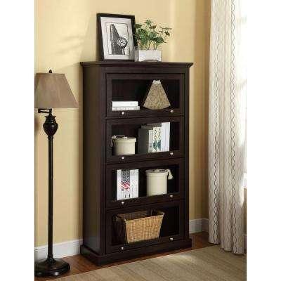 Alton Alley Espresso Barrister Bookcase