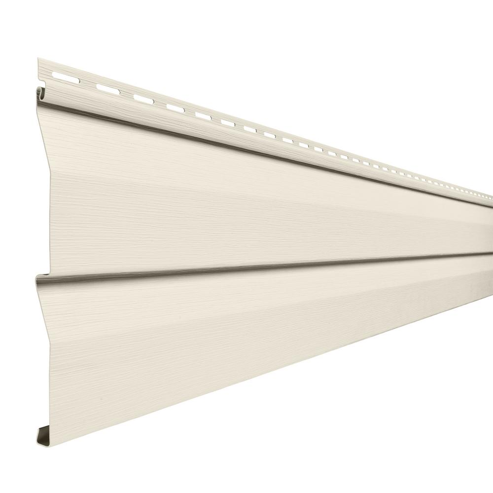Double 45 In X 145 In Ivory Vinyl Dutch Lap Siding Pcd45n3h The
