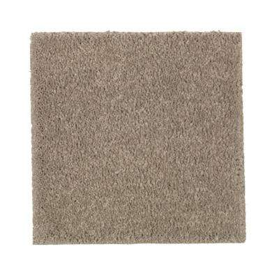 Carpet Sample - Gazelle II - Color Desert Trail Texture 8 in. x 8 in.