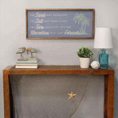 Sand, Salt, Tans and Memories Wall Decor