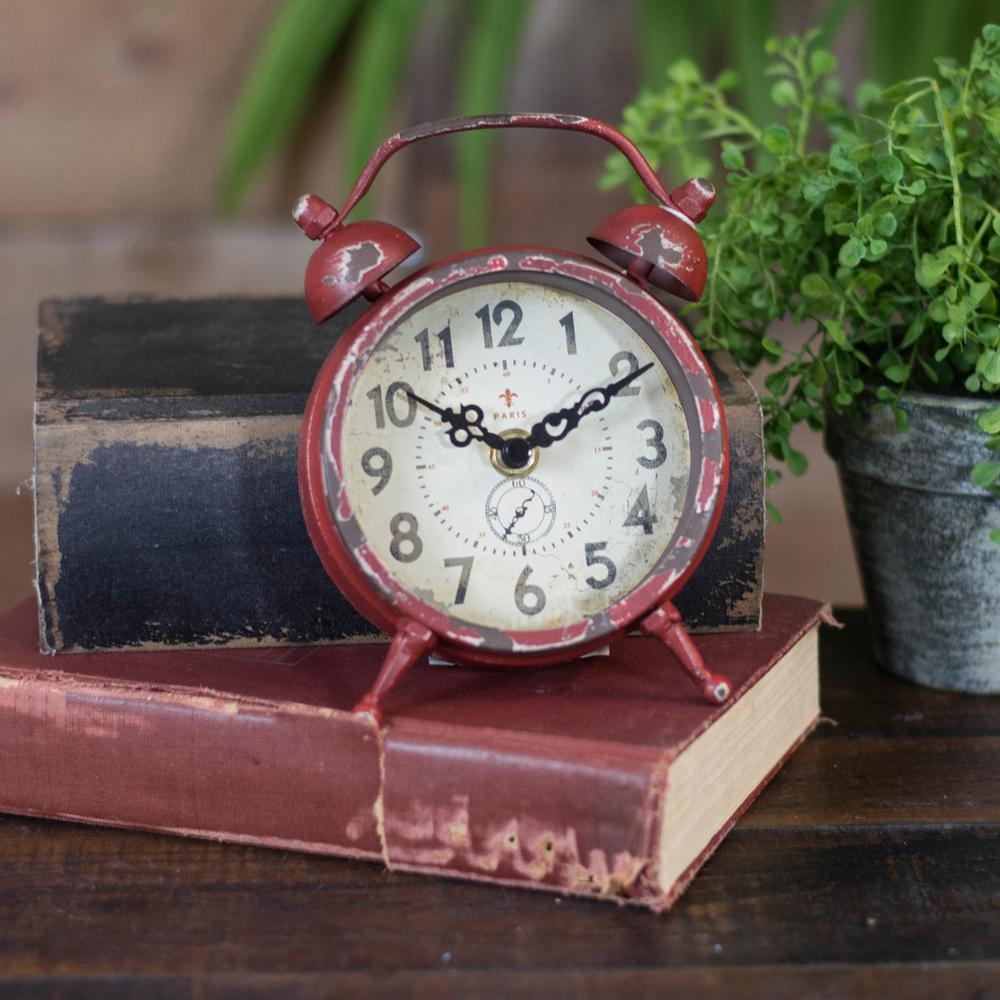 Metal Magnet Clock