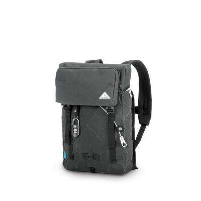 Ultimatesafe 18 in. Charcoal Backpack with Laptop Compartment