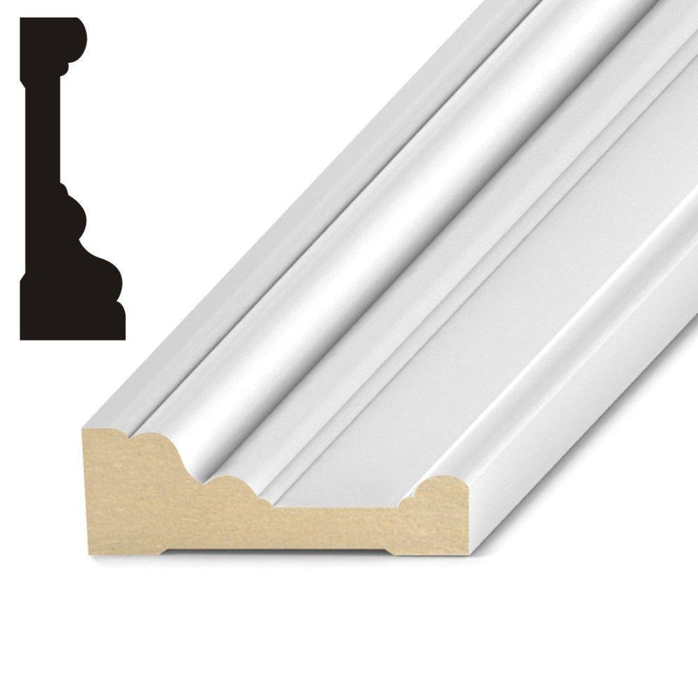 Kelleher howe 1 1 16 in x 3 1 4 in primed wood howe mdf for 1 x 4 window casing