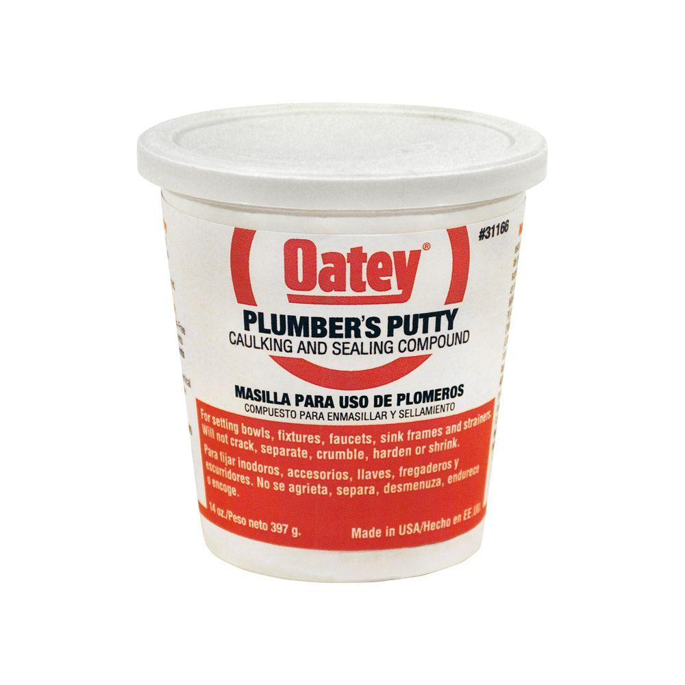 Oatey 14 Oz Plumber S Putty 311662 The Home Depot