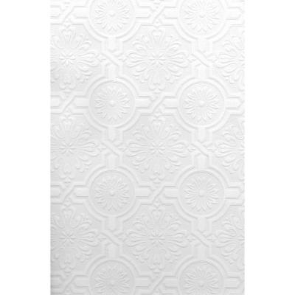Nazareth Ornate Tiles Paintable Wallpaper