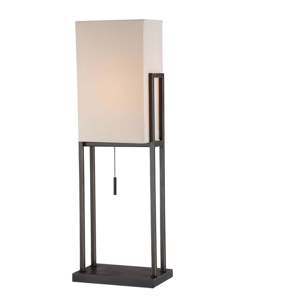 Illumine 1-Light Table Lamp Dark Bronze finish-DISCONTINUED