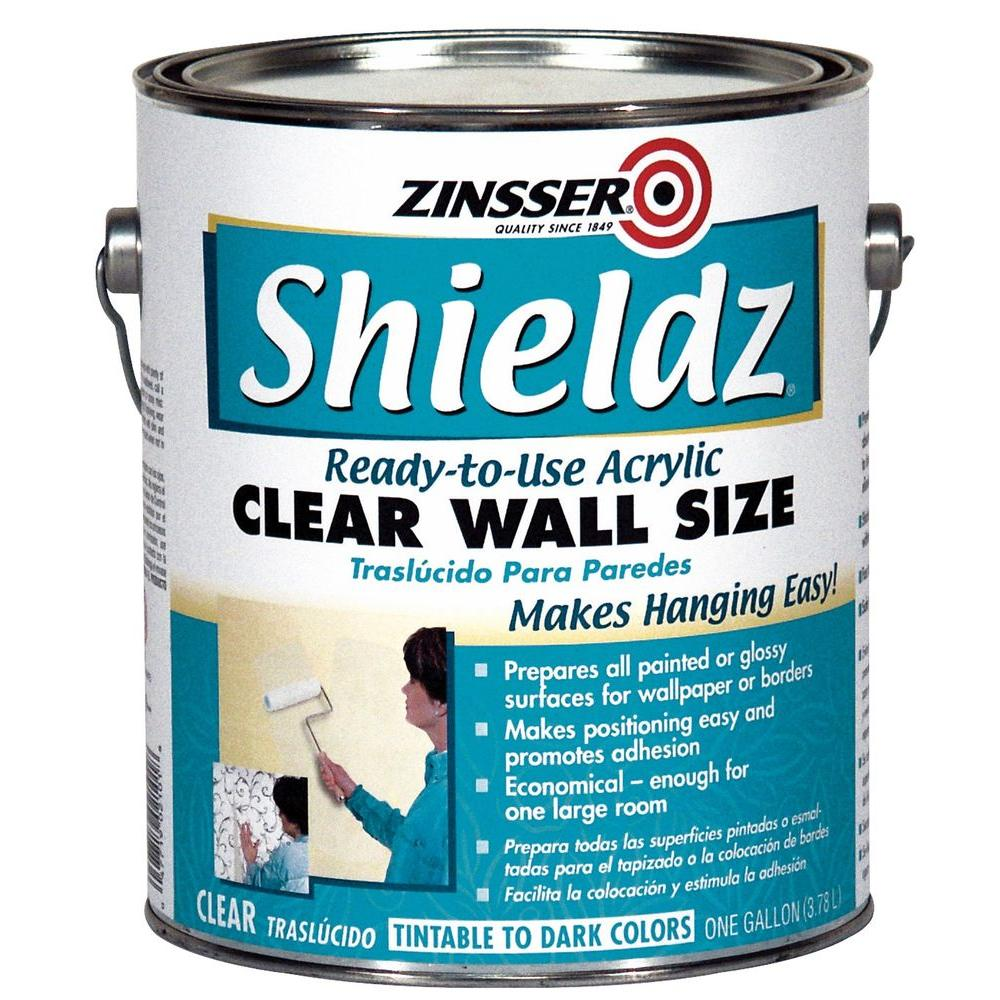 1 gal. Shieldz Acrylic Clear Wall Size (Case of 4)