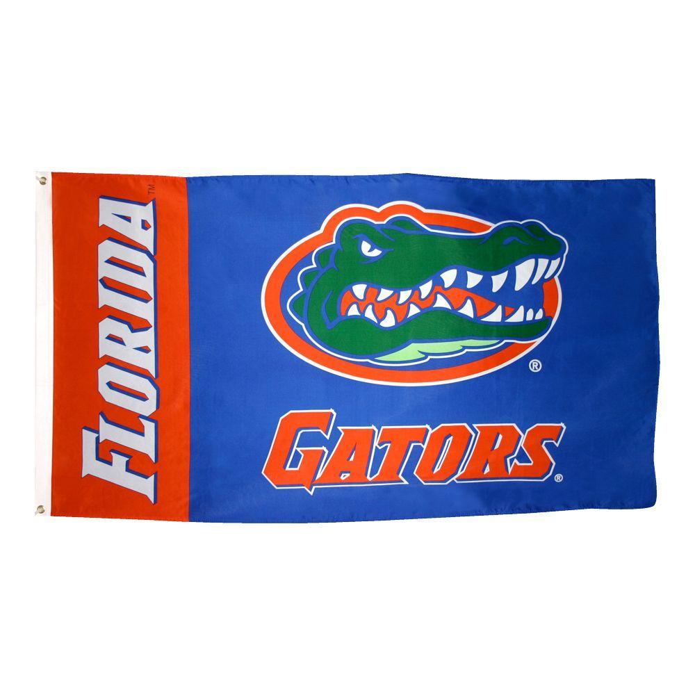 3 ft. x 5 ft. Polyester Florida Gators Flag