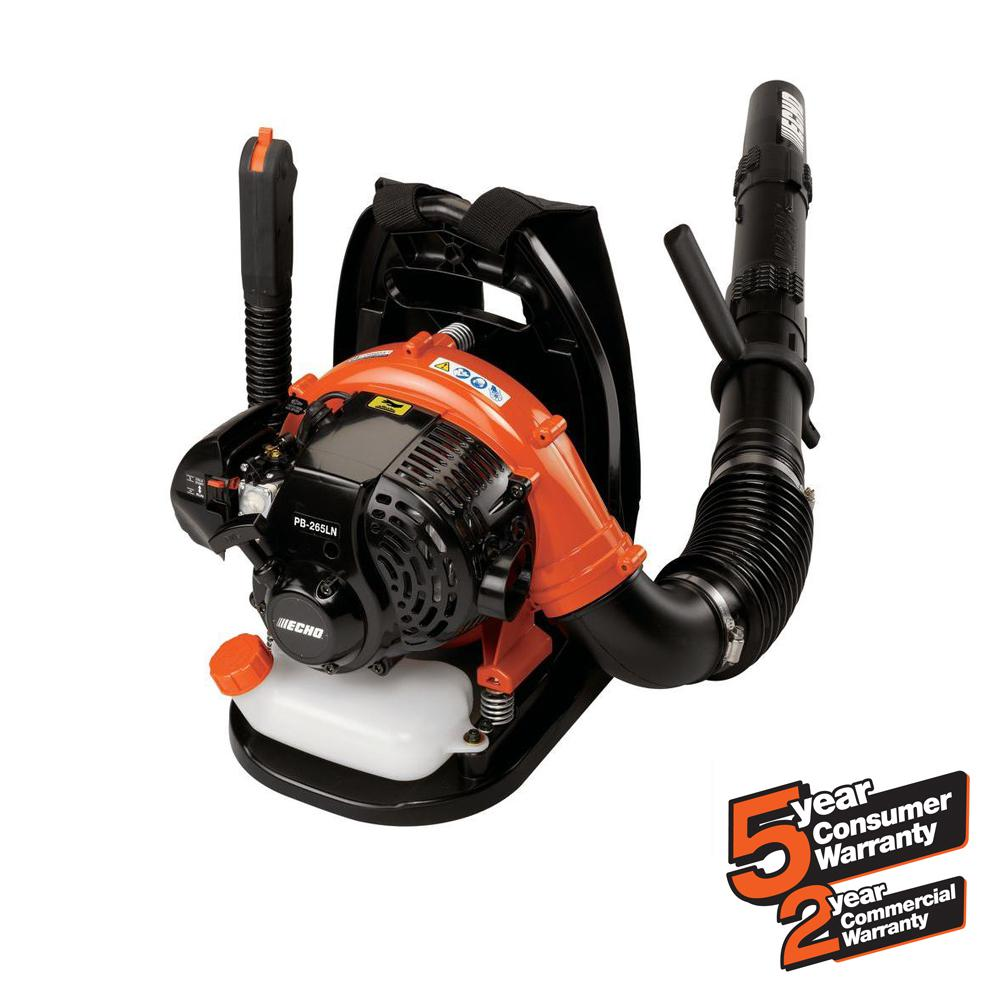 ECHO 158 MPH 375 CFM 25.4cc Gas 2-Stroke Cycle Backpack Leaf Blower with