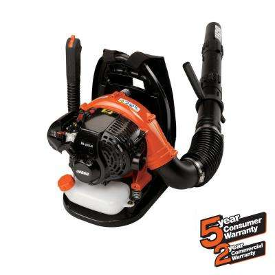 158 MPH 375 CFM 25.4cc Gas 2-Stroke Cycle Backpack Leaf Blower with Hip Throttle