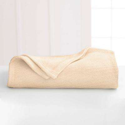 Cotton Natural Cotton Twin Blanket