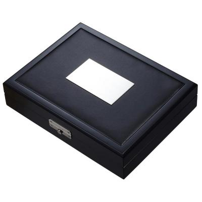 Drako Black Travel Cigar Humidor