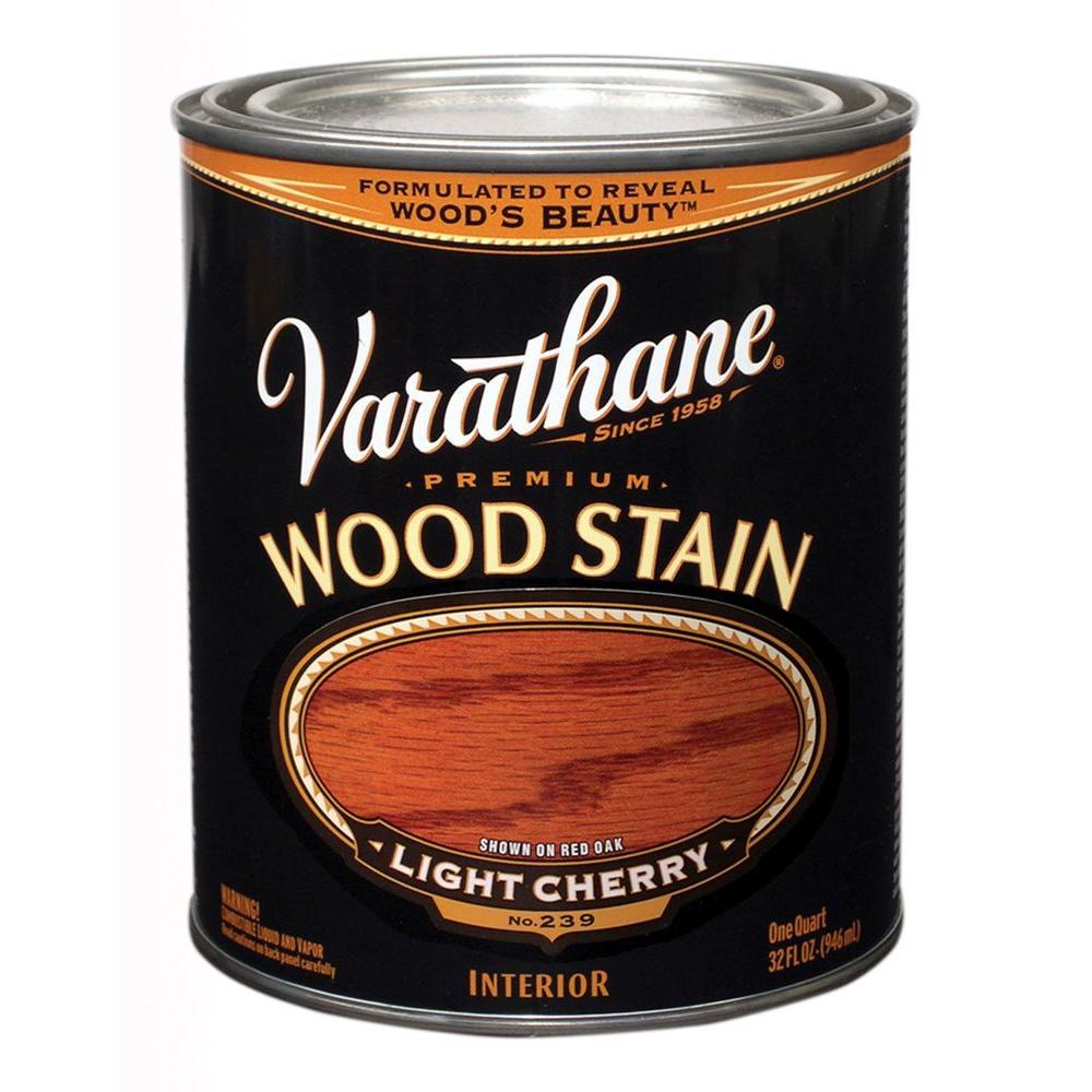 1-Qt. Light Cherry Premium Interior Wood Stain No.239