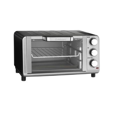 Stainless Steel 4-Slice Compact Toaster Oven Broiler