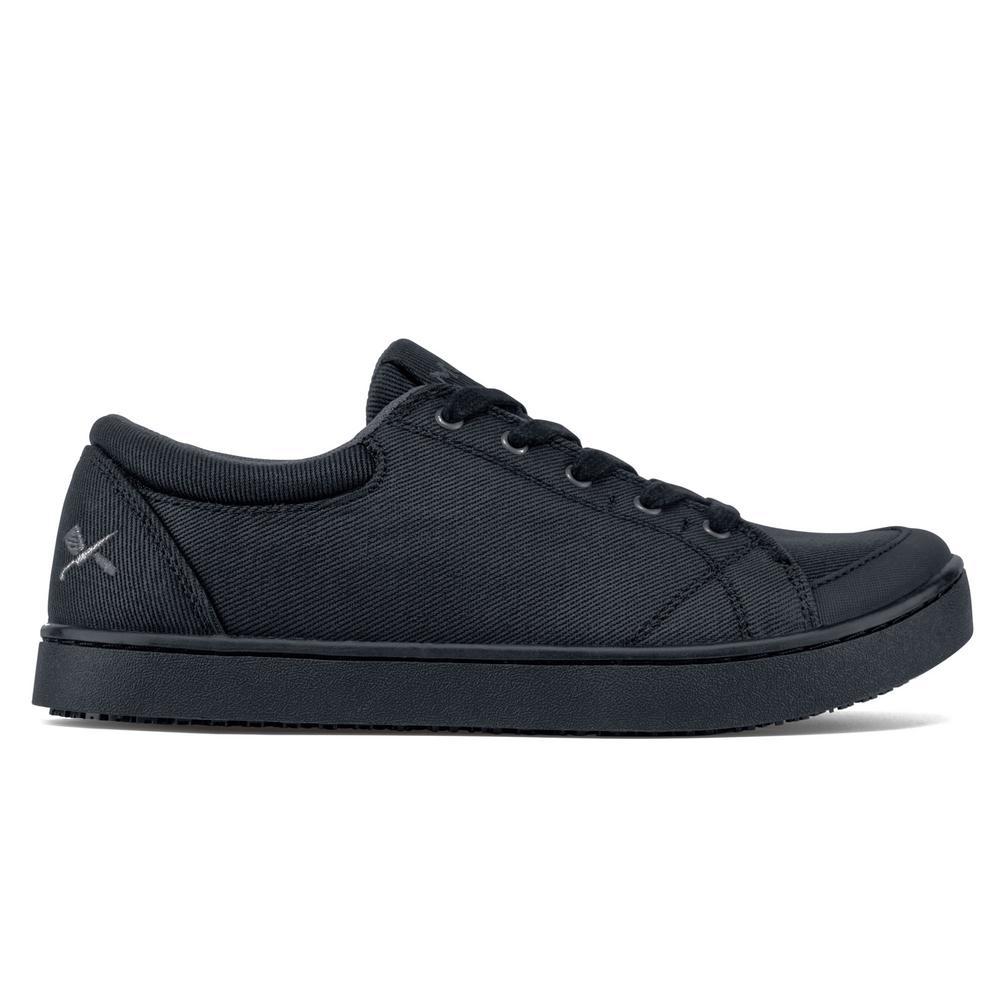 e971758c1d71d MOZO Maven Women's Size 8.5 Black Canvas Slip-Resistant Work Shoe