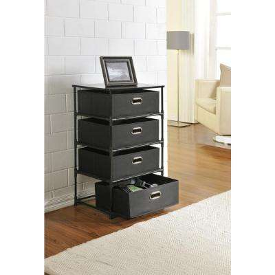 Sidney Black Storage Furniture