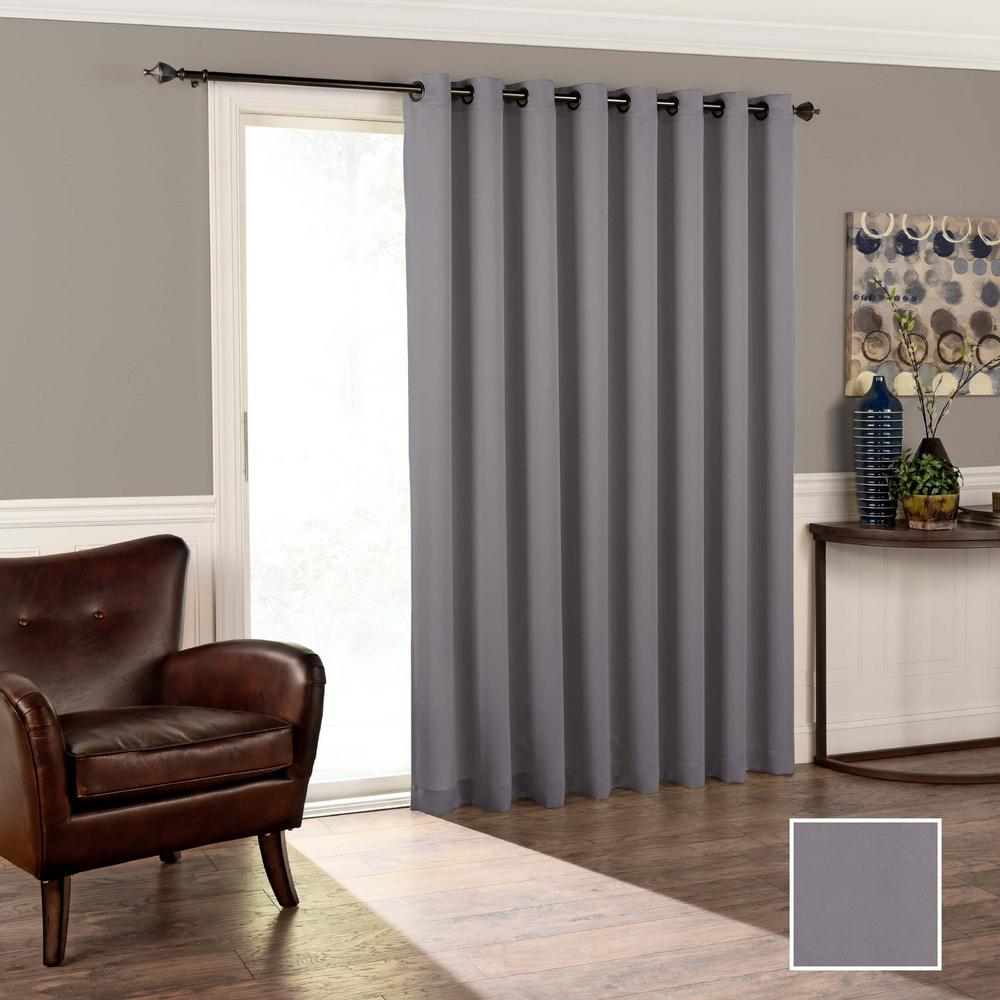 semi opaque curtains drapes window treatments the home depot