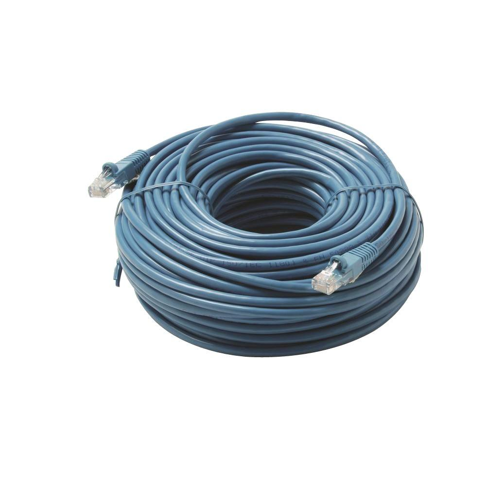 50 ft. Molded Cat5E UTP Patch Cord - Blue