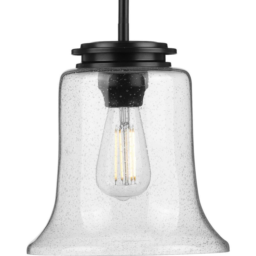 Winslett 1-Light Black Mini-Pendant