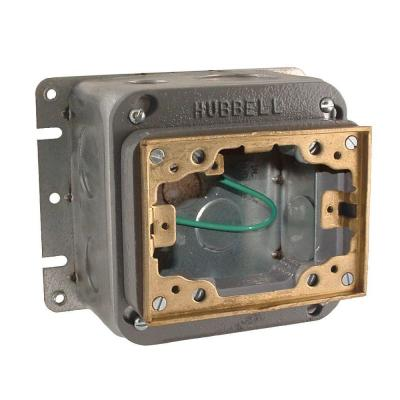 Pack of 50 2-1//2 Depth Pack of 50 Hubbell-Raco 501 Switch Box 1//2 Knockout 2-1//2 Depth 1//2 Knockout