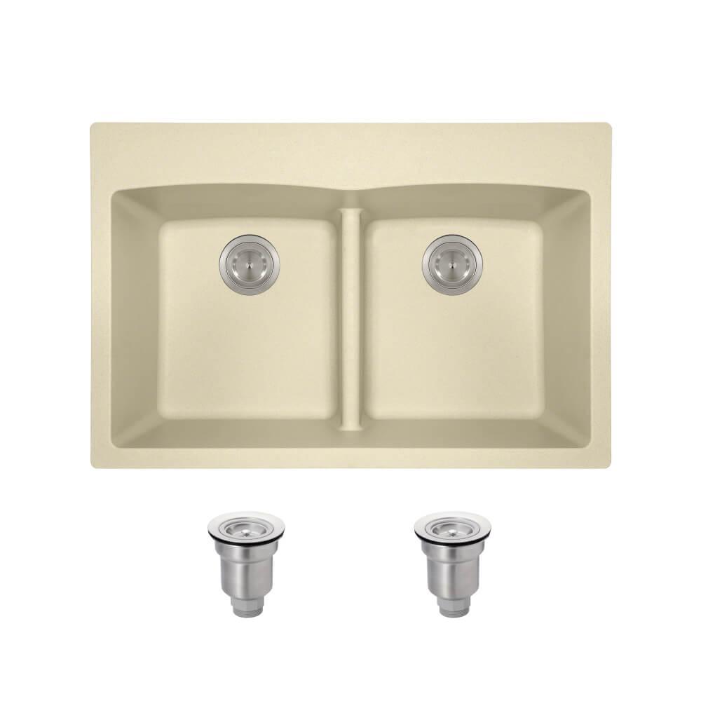 elkay_ectsrao33229bg4_alt Low Divide Drop In Kitchen Sink
