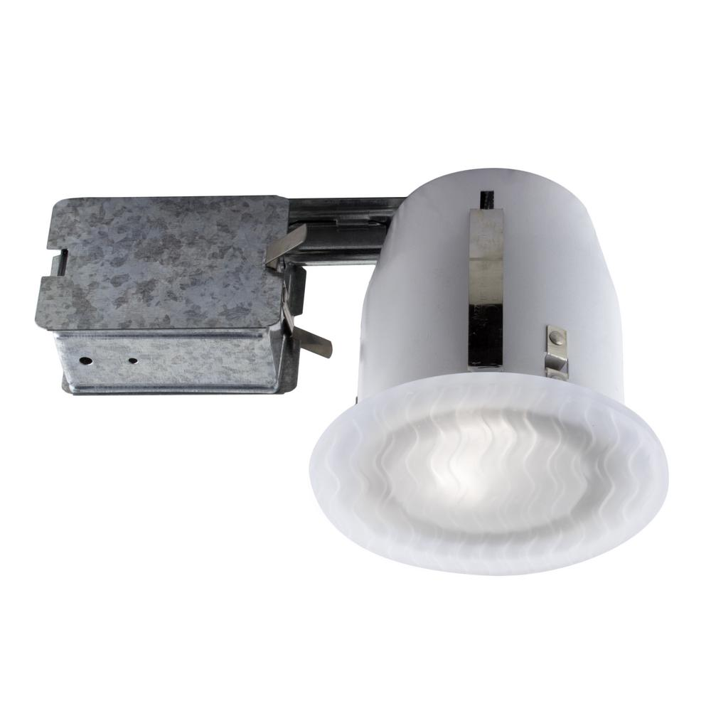 Led Light Fixtures Damp Location: Halo SMD 5 In. And 6 In. White Integrated LED Recessed