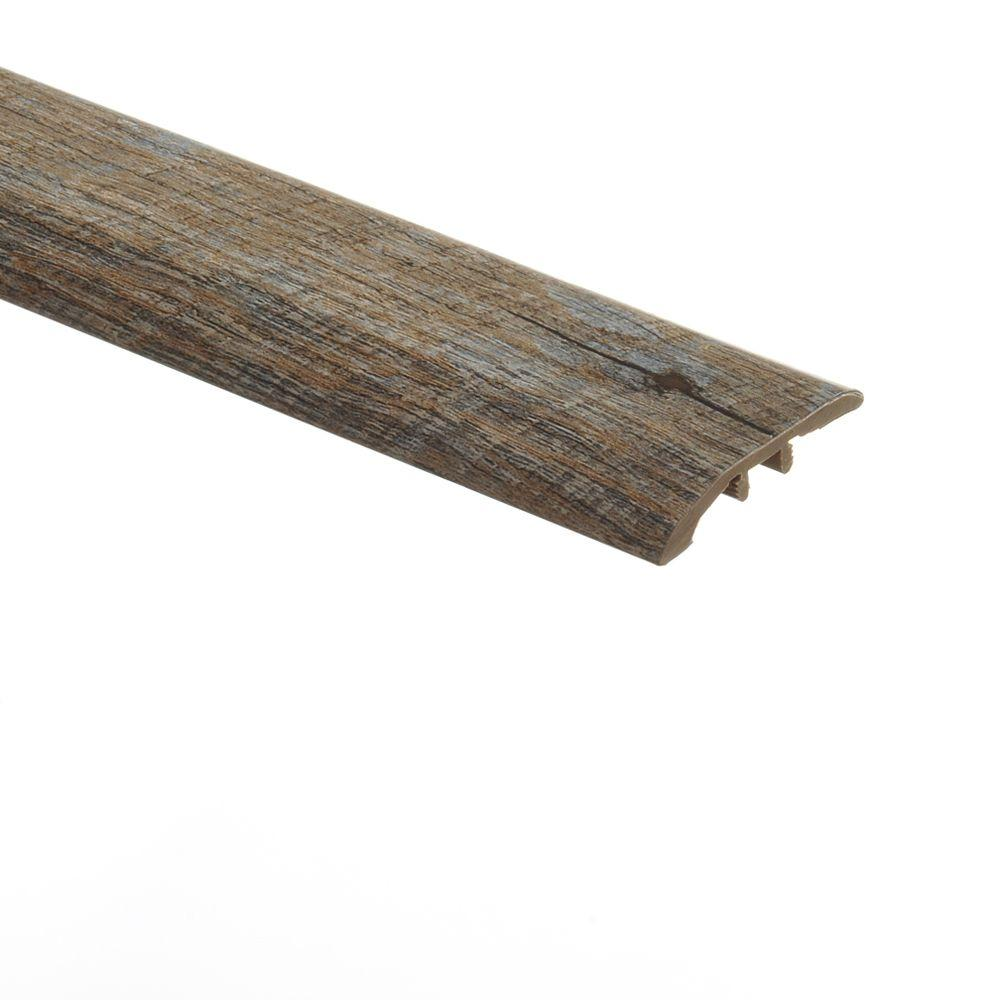 Zamma Rustic Hickory 5/16 in. Thick x 1-3/4 in. Wide x 72 in. Length Vinyl Multi-Purpose Reducer Molding