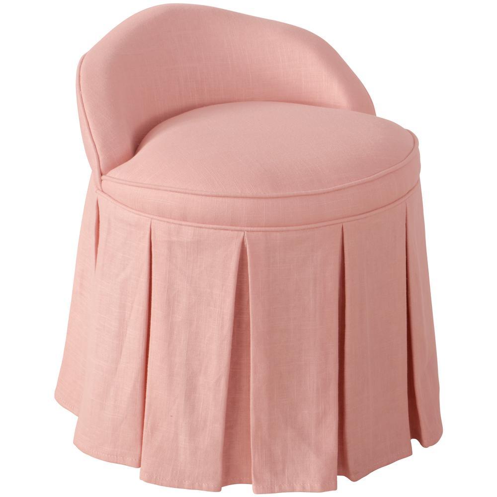 Linen Petal Kid'S Vanity Chair