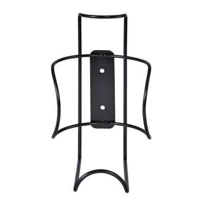 8.5 in. H Large Wipe Canister Holder Wall Mount-Black