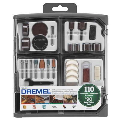 All-Purpose Rotary Accessory Kit with Storage Case(110-Piece)