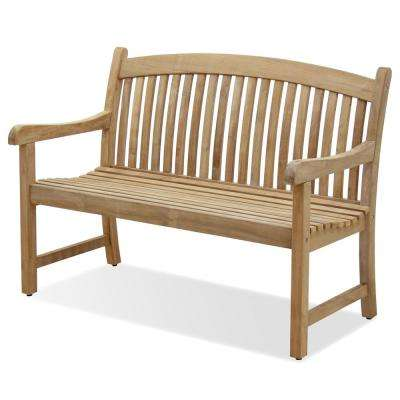 Amazonia Newcastle 26 in. 2-Person Teak Outdoor Bench