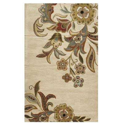 Tara Cream 9 ft. x 12 ft. Area Rug