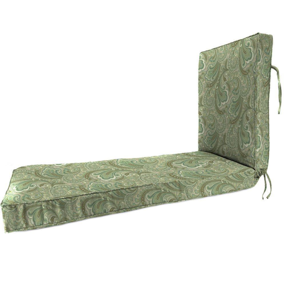 Marona Latte Outdoor Chaise Lounge Cushion