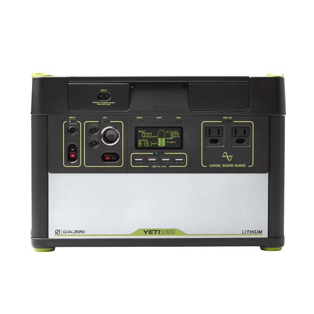 1,000-Watt Lithium Battery Powered Portable Generator