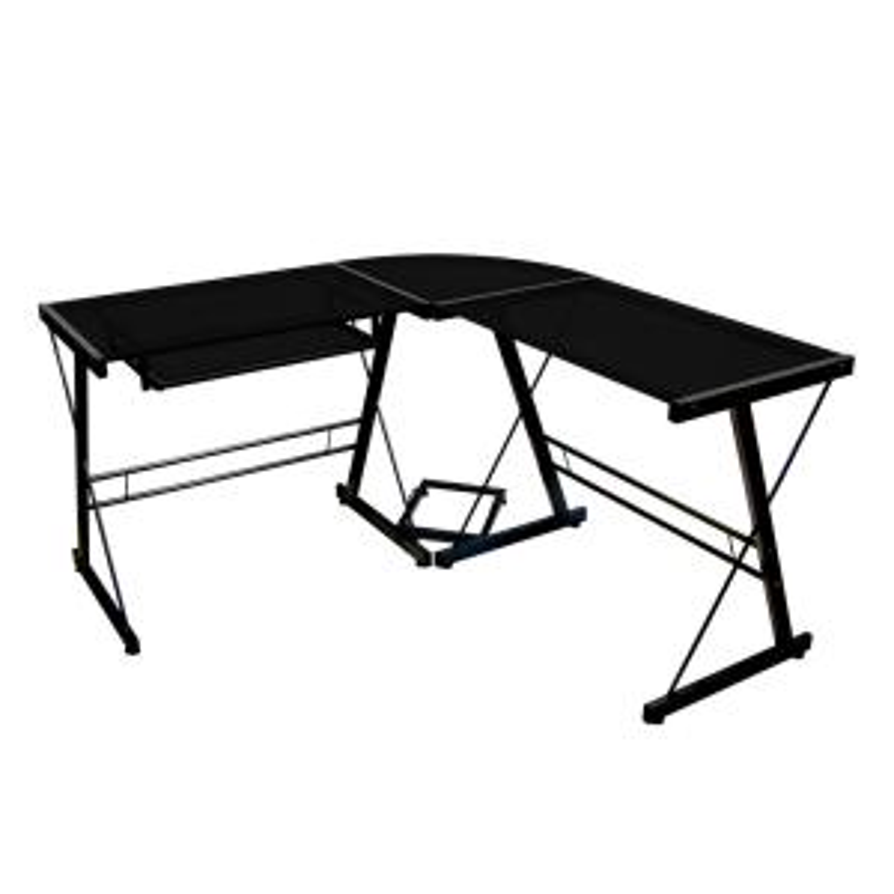 Walker Edison Furniture Company Home Office Black Desk by Walker Edison Furniture Company