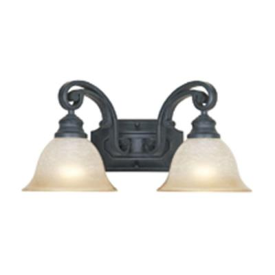Barcelona 2-Light Natural Iron Wall Light