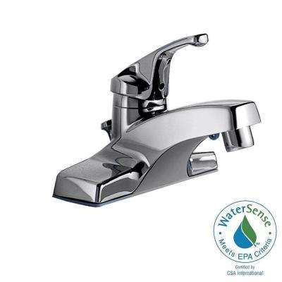 Colony 4 in. Centerset Single Handle Bathroom Faucet in Polished Chrome