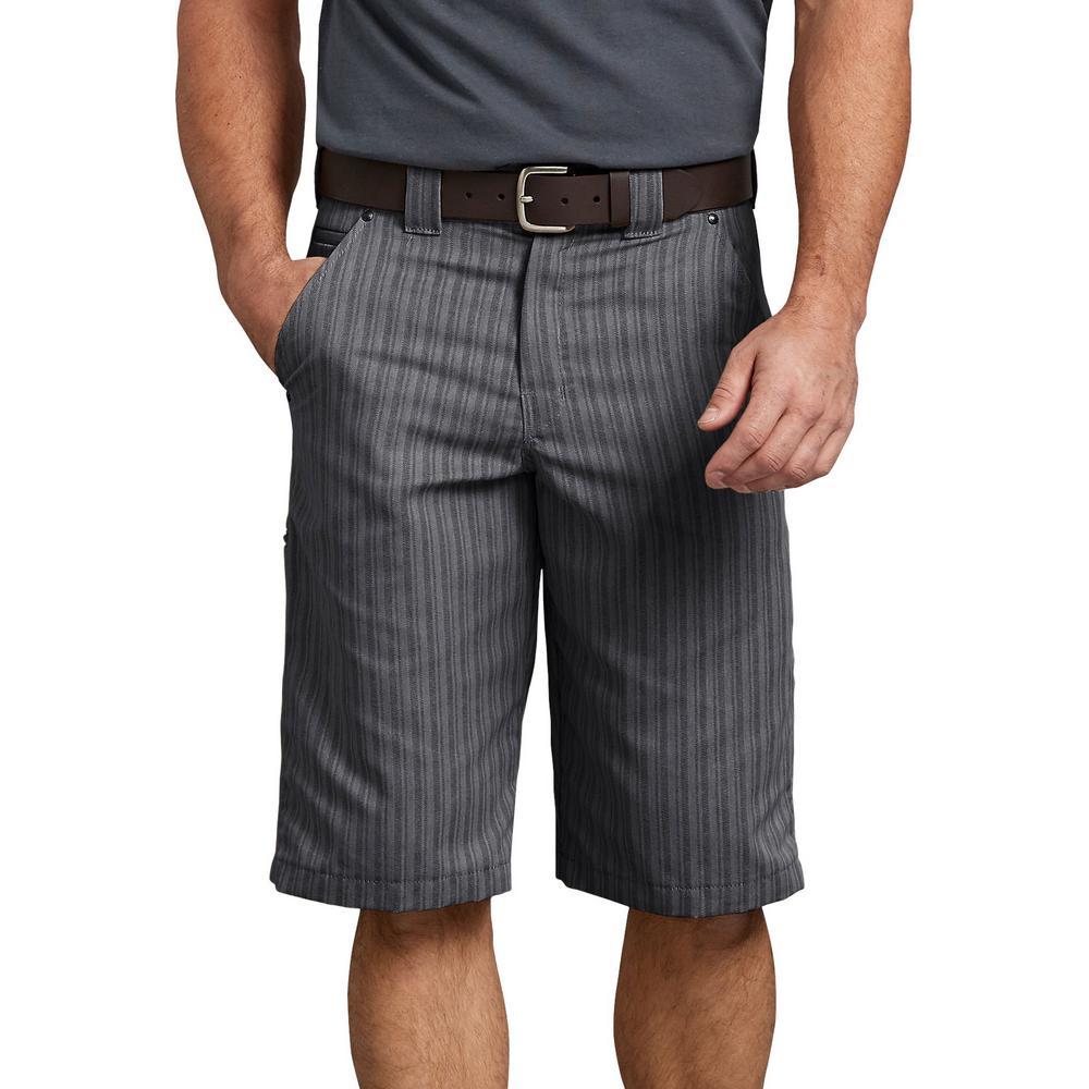 Men's Graphite 13 in. Regular Fit Shadow Stripe Short