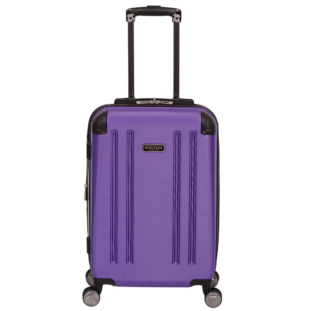 O'Hare Collection Lightweight Hardside ABS 8-Wheel Expandable Upright 20 in.