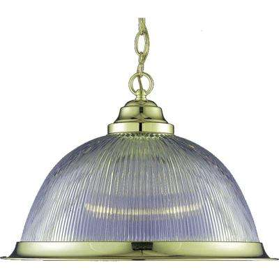 Marti 1-Light Polished Brass Interior Pendant